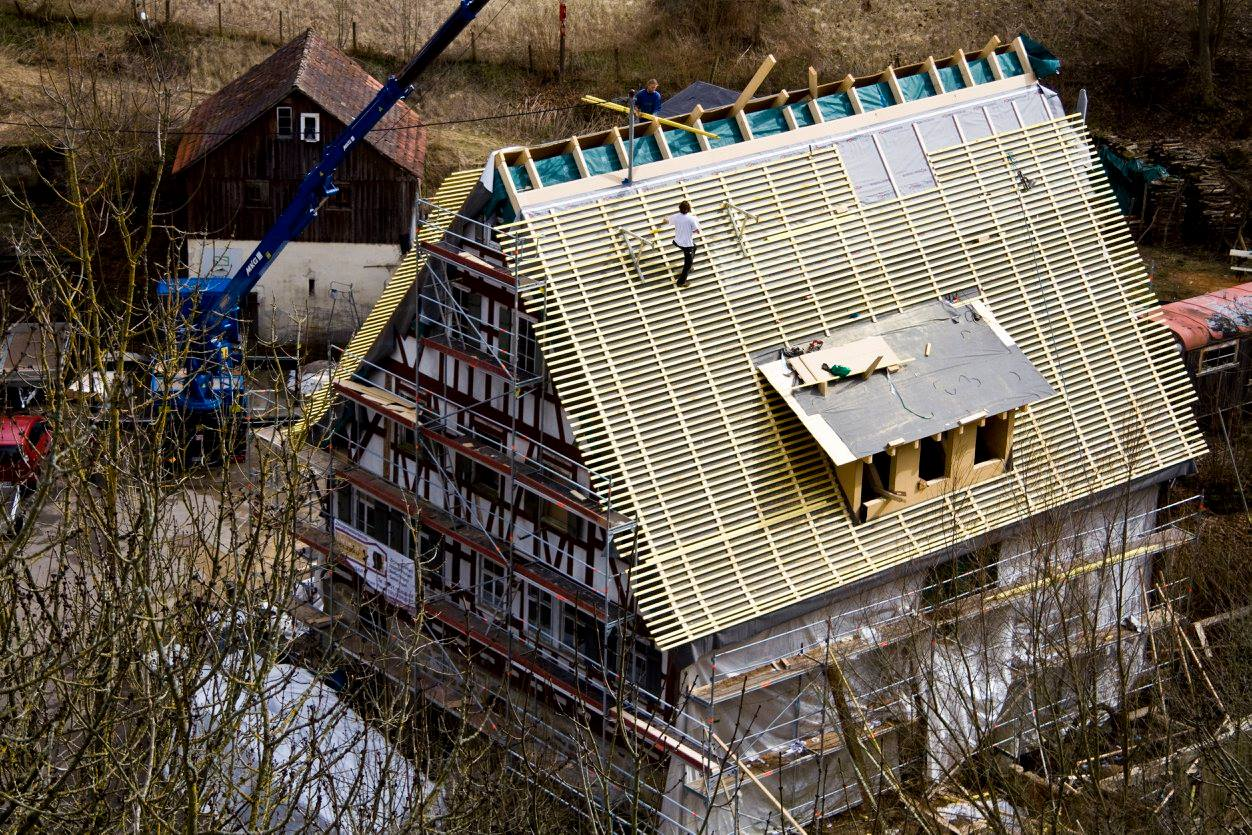 Zimmerei Schmidgall Mühle Vellberg