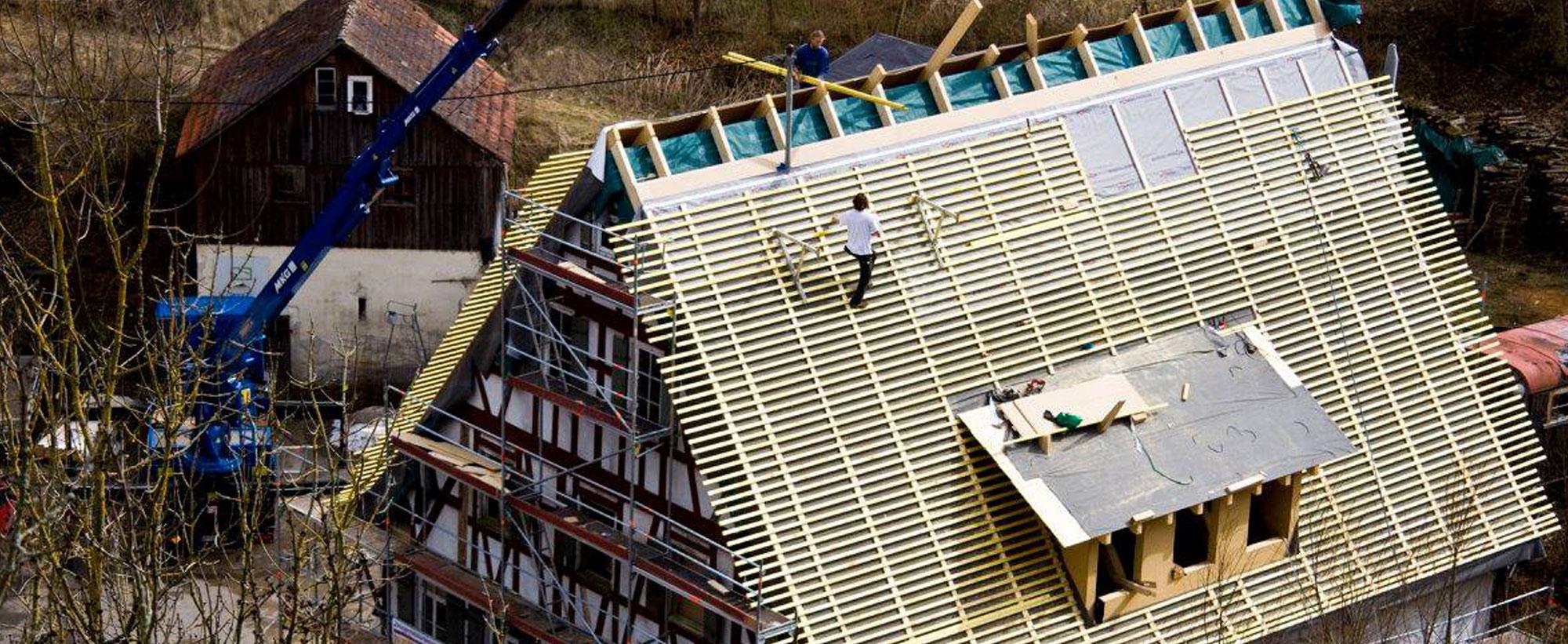 Zimmerei Schmidgall - Dachreparatur