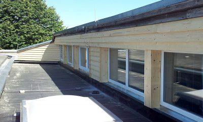 Zimmerei Schmidgall - Fassade