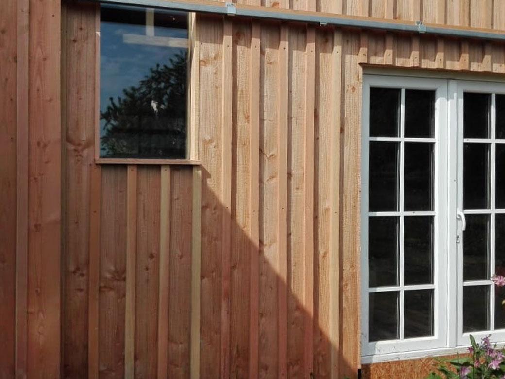 Zimmerei Schmidgall - Holzfassade