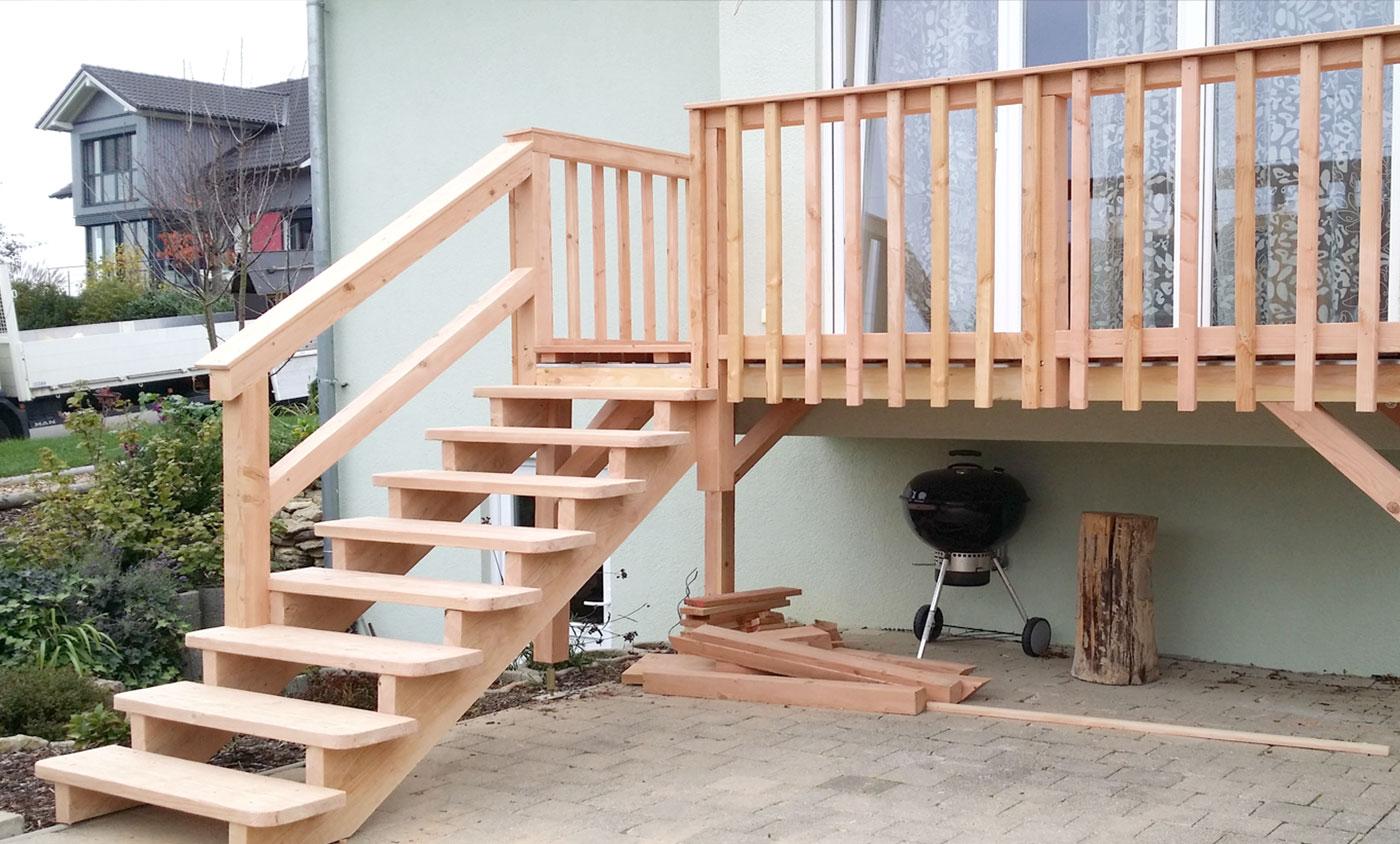 Zimmerei Schmidgall - Balkon